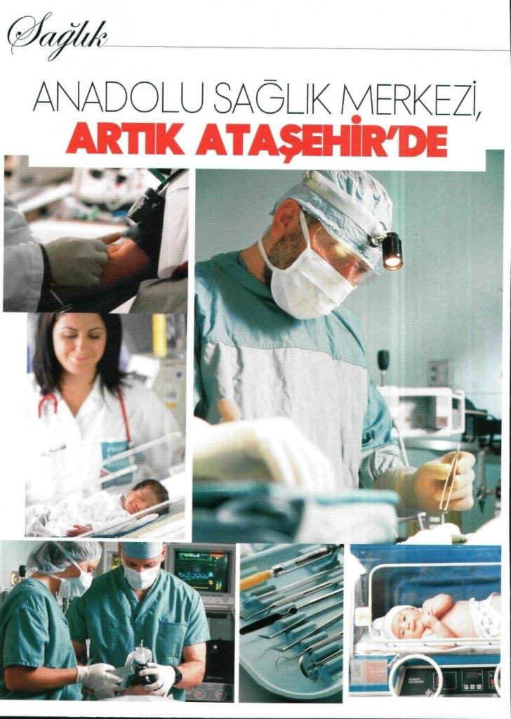 Anadolu Sağlık Merkezi Artık Ataşehir'de