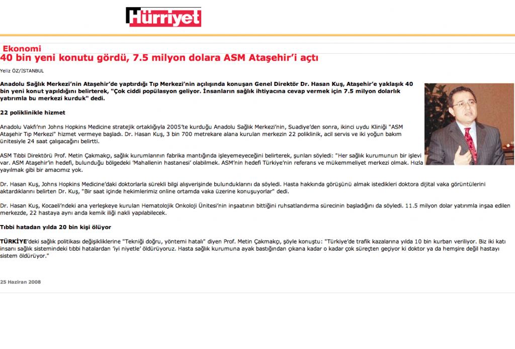 40 bin yeni konutu gördü, 7.5 milyon dolara ASM Ataşehir'i açtı