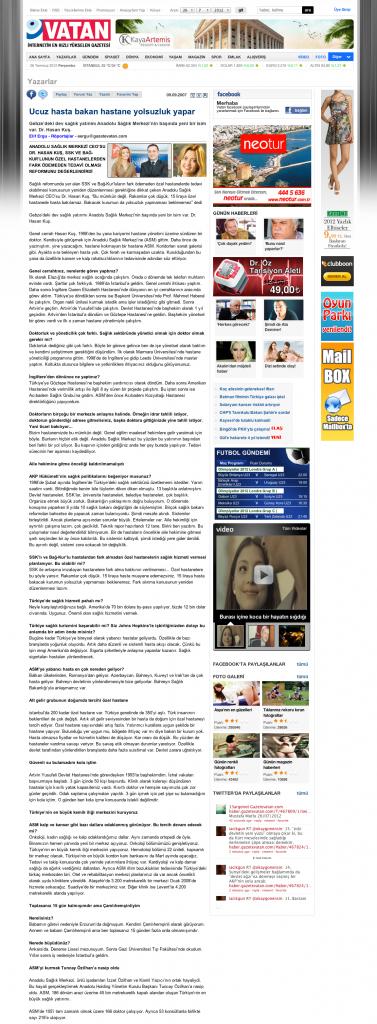 Ucuz hasta bakan hastane yolsuzluk yapar | GAZETE VATAN